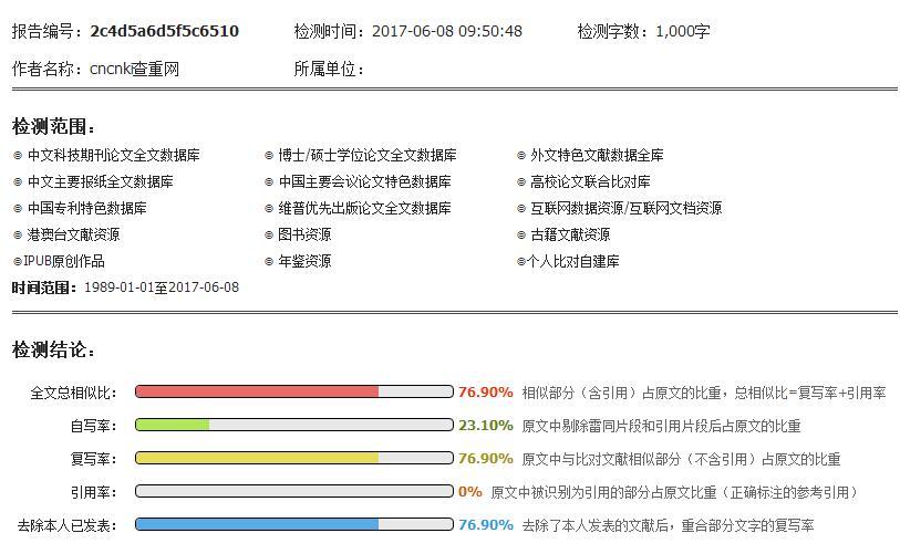 论文抄袭率_论文查重综合报告 – 物流配送中存在的问题及对策 | 中国知网 ...